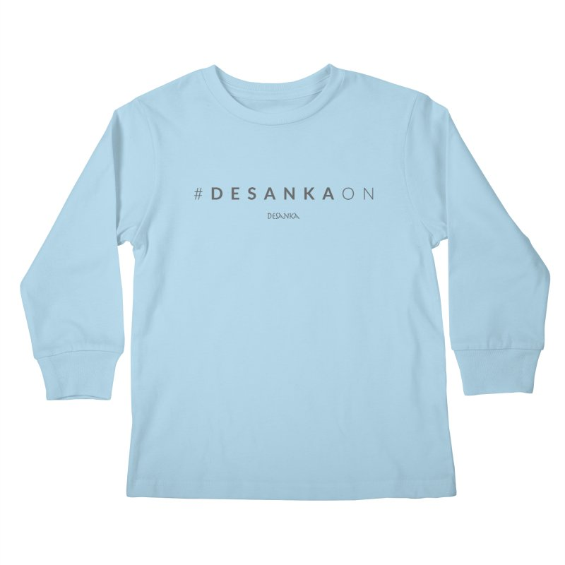 Joy // Desanka On Kids Longsleeve T-Shirt by Desanka Spirit's Artist Shop