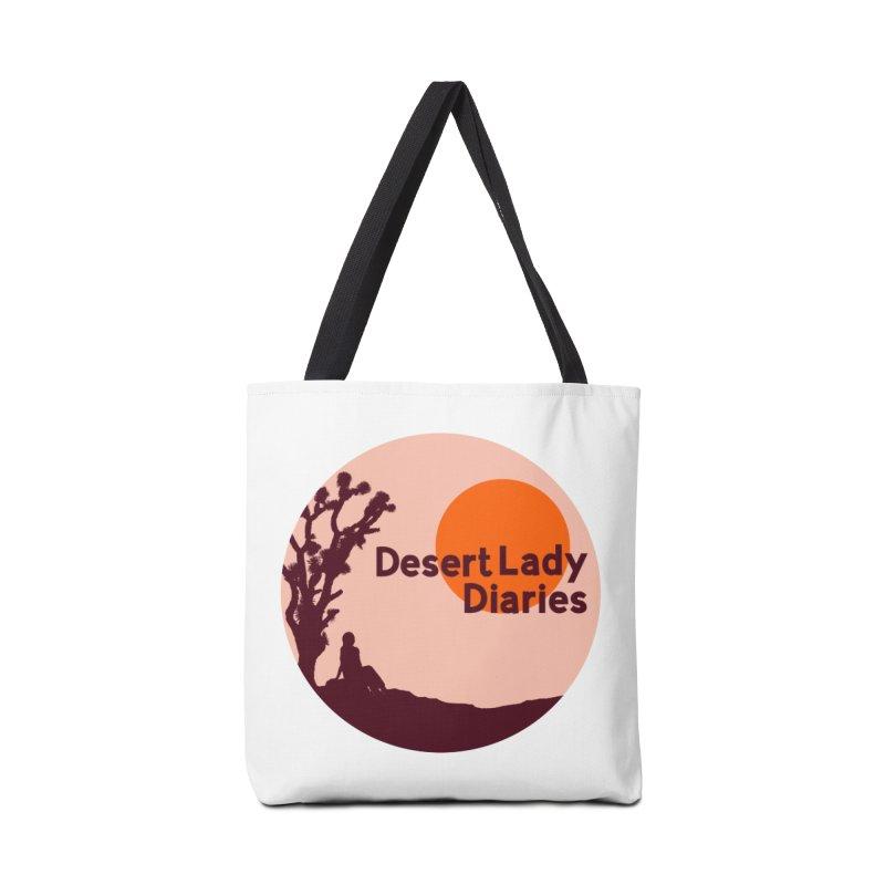 Desert Lady Diaries Merch Accessories Tote Bag Bag by desertladydiaries's Artist Shop