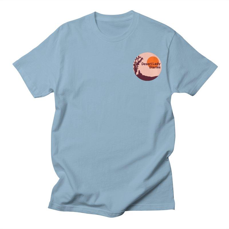 Desert Lady Diaries Merch Men's T-Shirt by desertladydiaries's Artist Shop