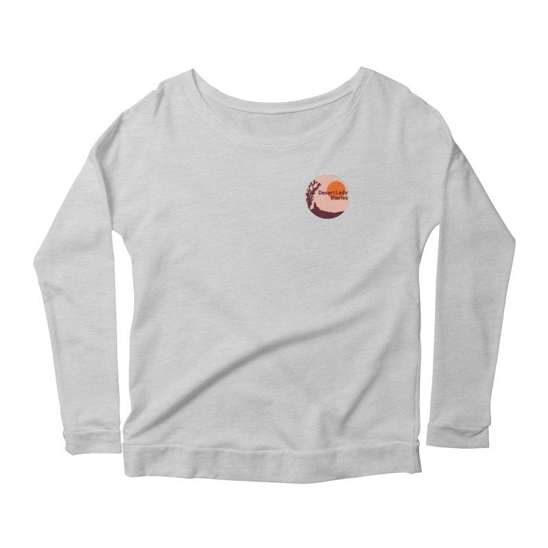 Desert Lady Diaries Merch Women's Scoop Neck Longsleeve T-Shirt by desertladydiaries's Artist Shop