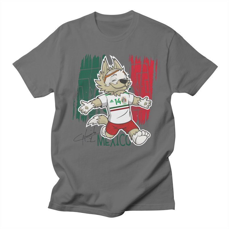 check out 9d81e bc2b8 Russian mascot with the shirt of the Mexican player Javier Hernandez  (Chicharito) | Design Boom Shop