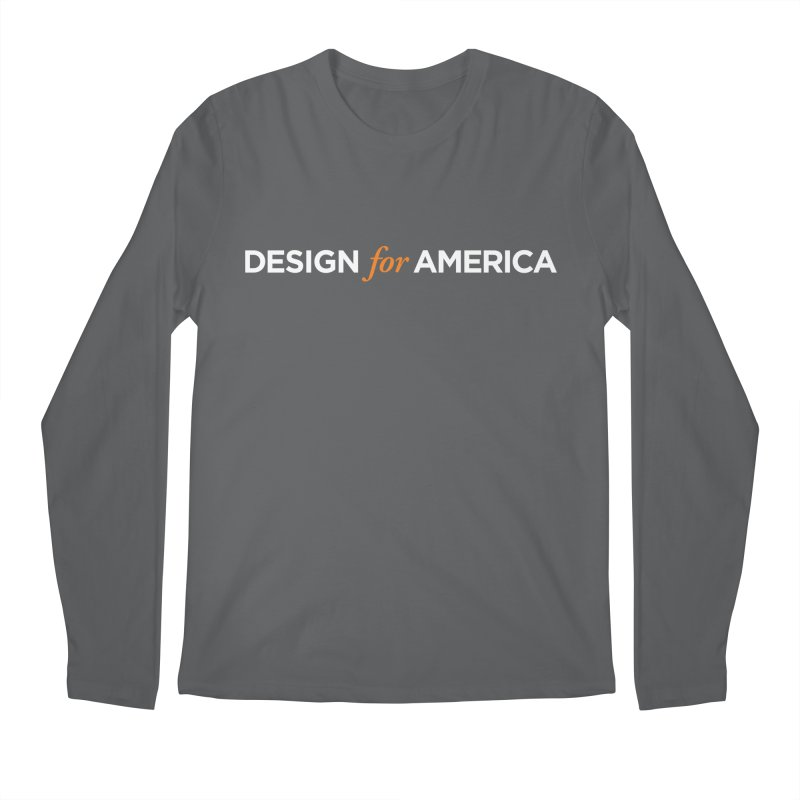 DFA logo essentials Men's Longsleeve T-Shirt by Design for America's Artist Shop