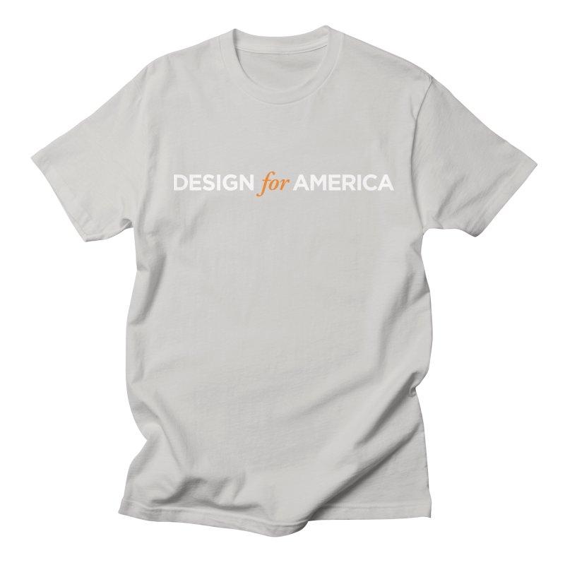 DFA logo essentials Men's T-shirt by Design for America's Artist Shop