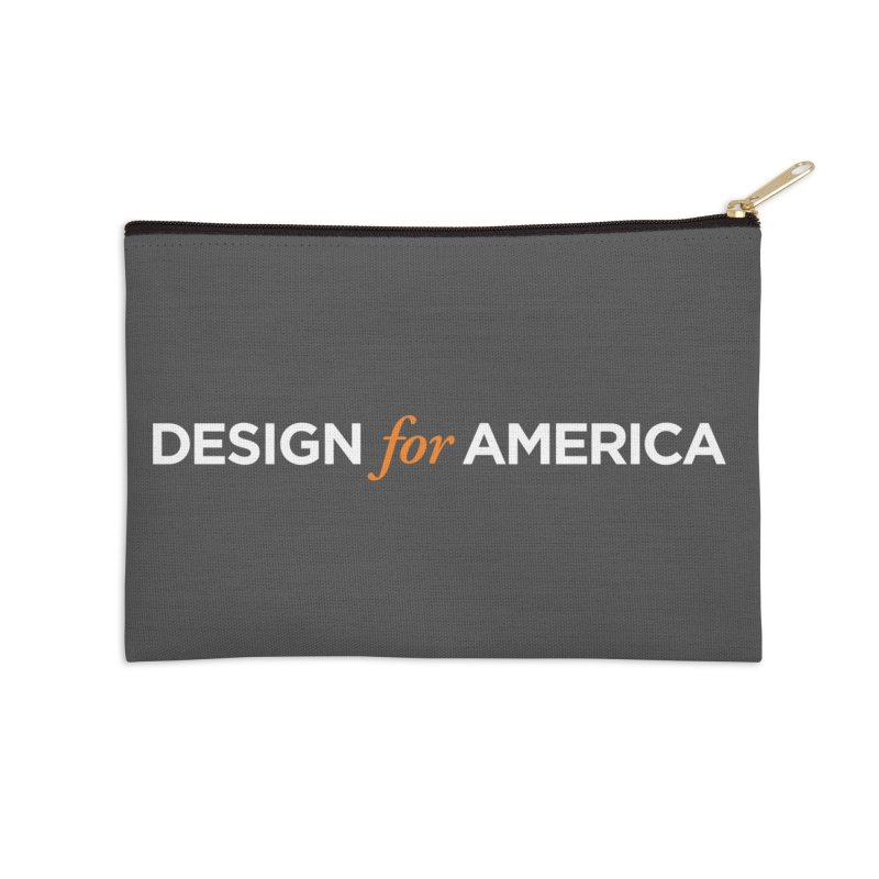 DFA logo essentials Accessories Zip Pouch by Design for America's Artist Shop