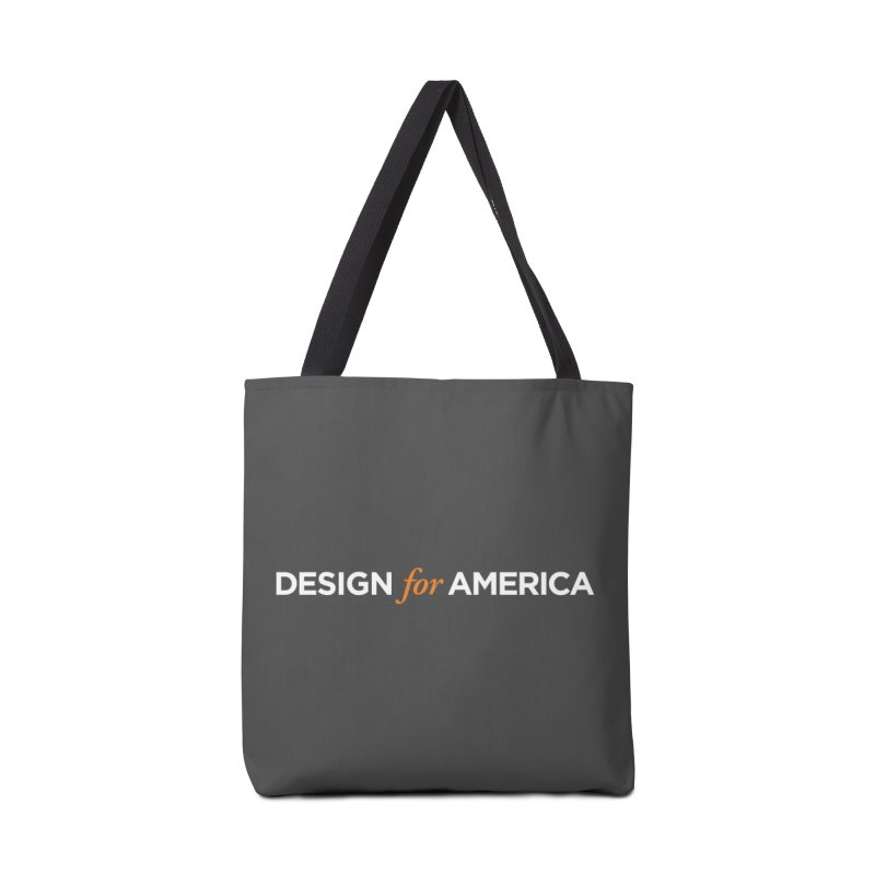 DFA logo essentials Accessories Bag by Design for America's Artist Shop
