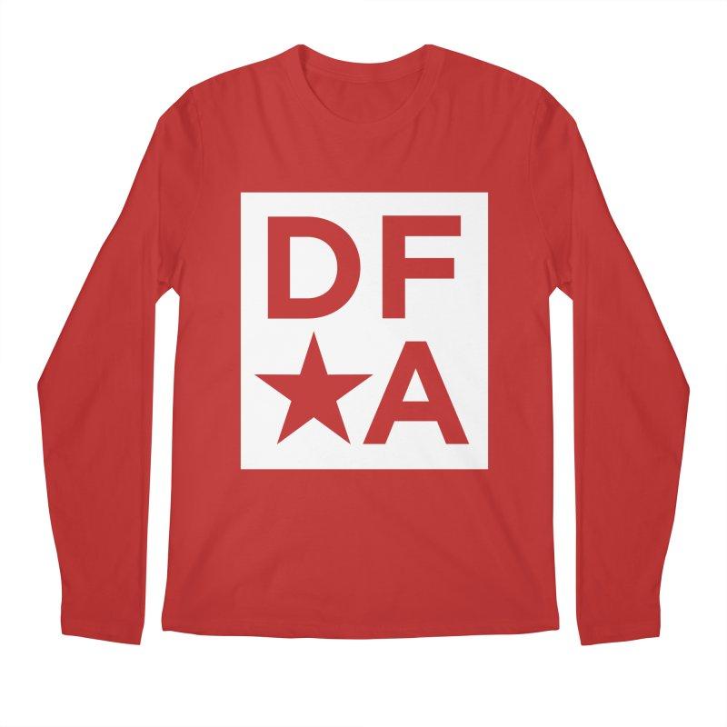 DFA icon essentials Men's Regular Longsleeve T-Shirt by Design for America's Artist Shop