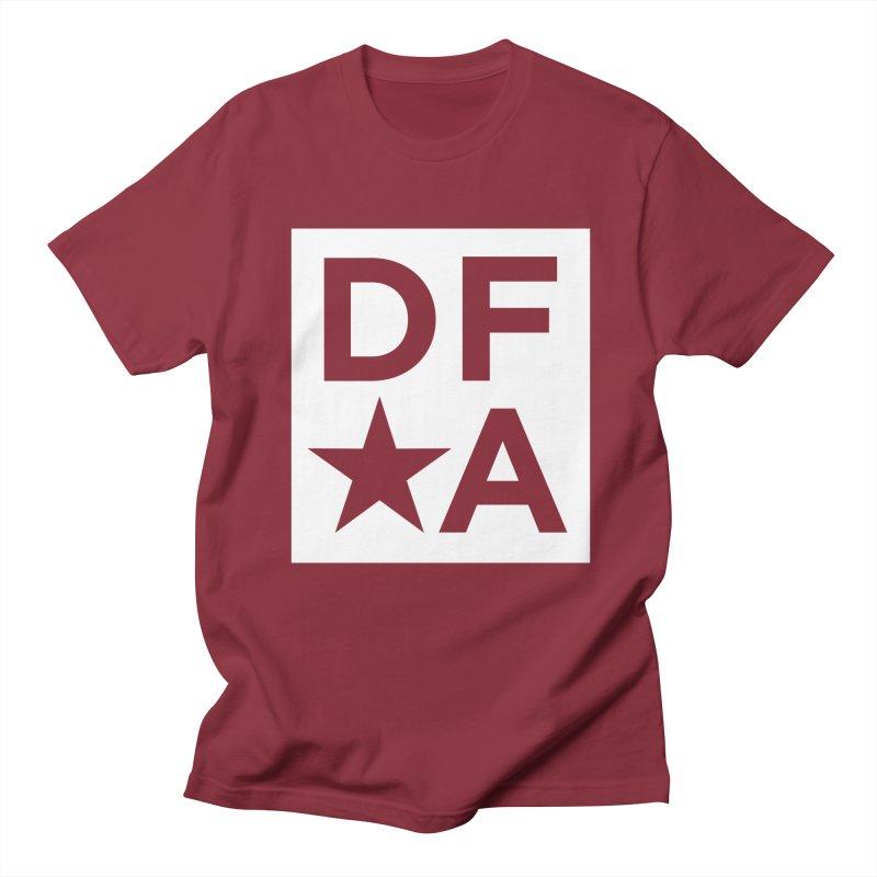 DFA icon essentials Men's T-shirt by Design for America's Artist Shop
