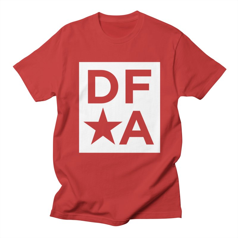 DFA icon essentials Men's Regular T-Shirt by Design for America's Artist Shop