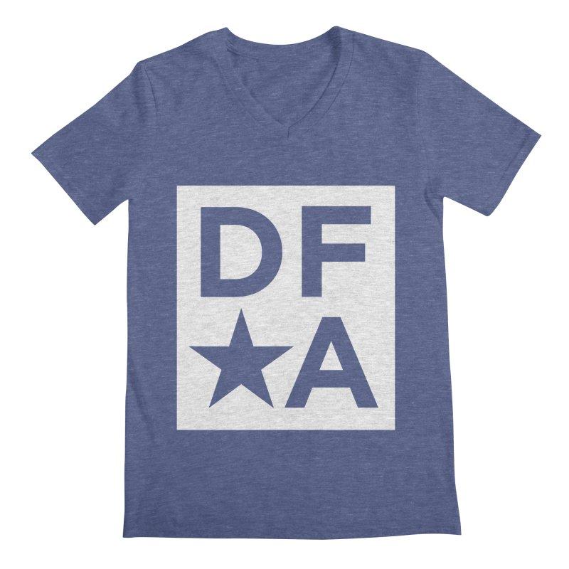 DFA icon essentials Men's V-Neck by Design for America's Artist Shop