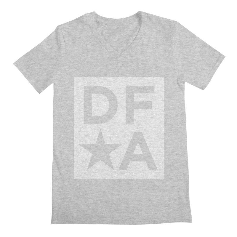 DFA icon essentials Men's Regular V-Neck by Design for America's Artist Shop
