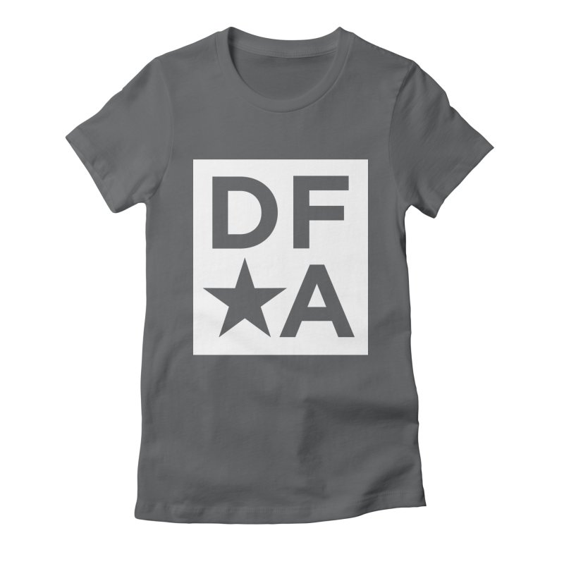 DFA icon essentials Women's Fitted T-Shirt by Design for America's Artist Shop