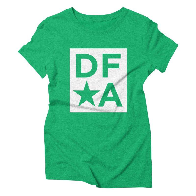 DFA icon essentials Women's Triblend T-Shirt by Design for America's Artist Shop