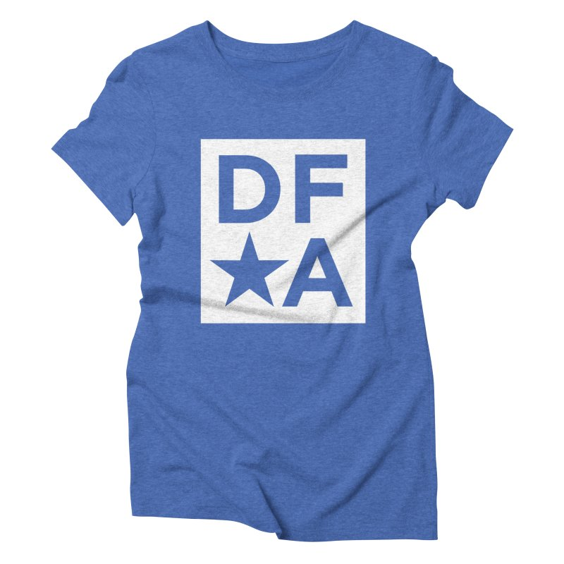 DFA icon essentials Women's Triblend T-shirt by Design for America's Artist Shop