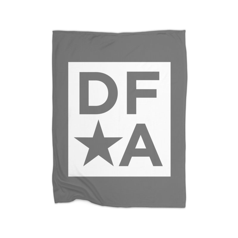 DFA icon essentials Home Fleece Blanket by Design for America's Artist Shop