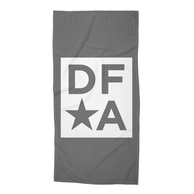 DFA icon essentials Accessories Beach Towel by Design for America's Artist Shop