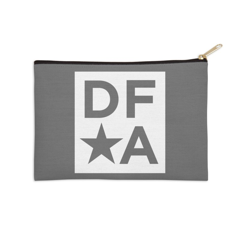 DFA icon essentials Accessories Zip Pouch by Design for America's Artist Shop