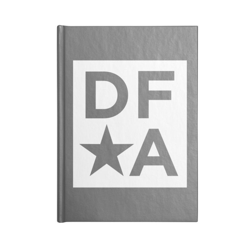 DFA icon essentials Accessories Notebook by Design for America's Artist Shop