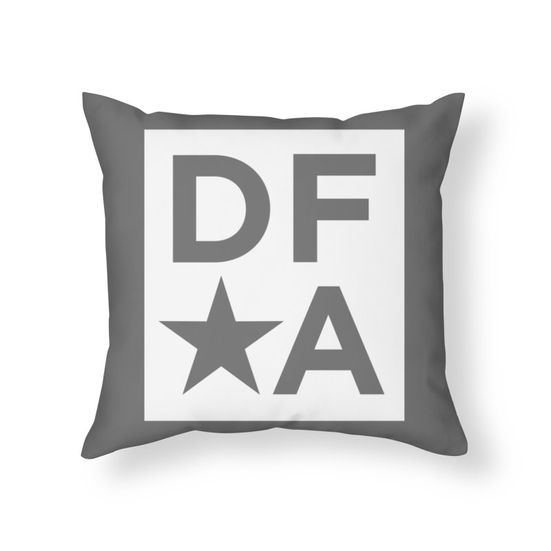 DFA icon essentials Home Throw Pillow by Design for America's Artist Shop