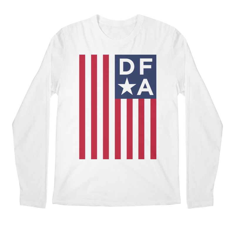 DFA Flag Men's Longsleeve T-Shirt by Design for America's Artist Shop