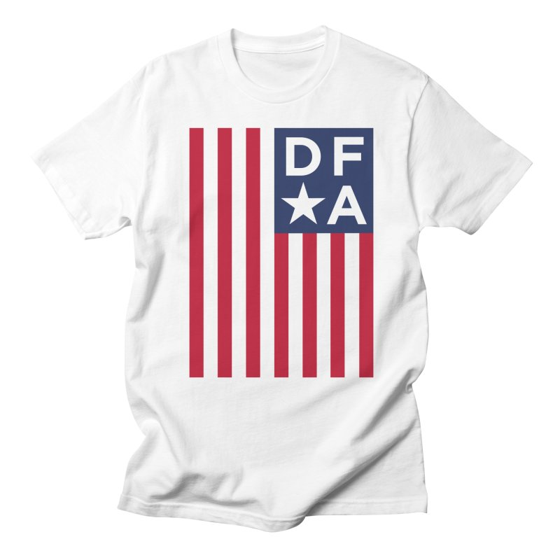 DFA Flag Men's T-Shirt by Design for America's Artist Shop