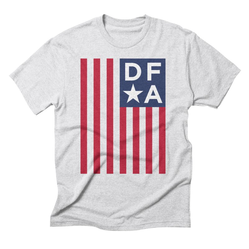 DFA Flag Men's Triblend T-Shirt by Design for America's Artist Shop