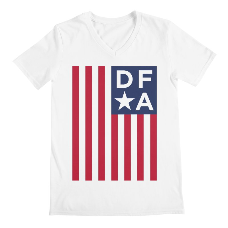 DFA Flag Men's V-Neck by Design for America's Artist Shop