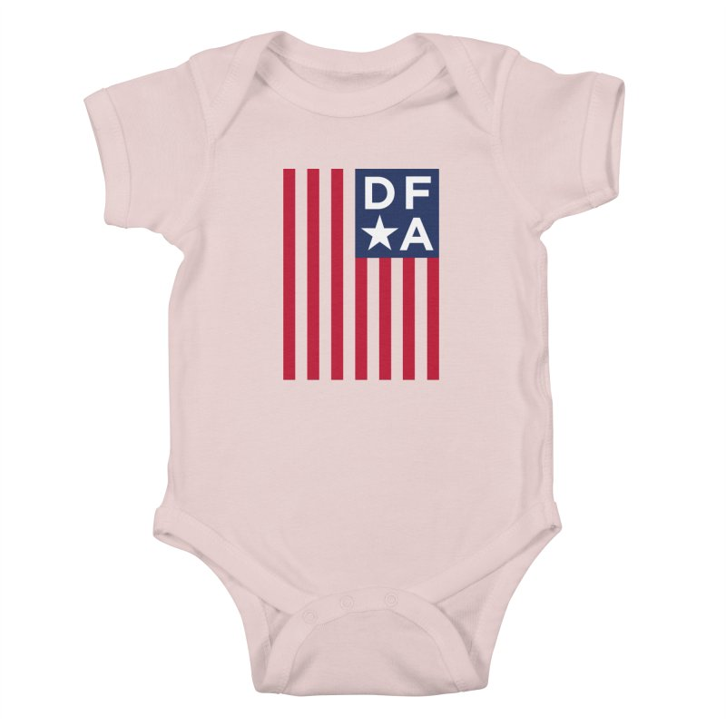 DFA Flag Kids Baby Bodysuit by Design for America's Artist Shop
