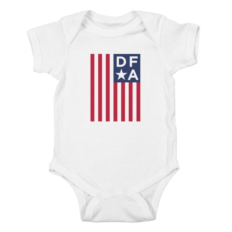 DFA Flag Kids Baby Bodysuit by Design for America's Artist Shop