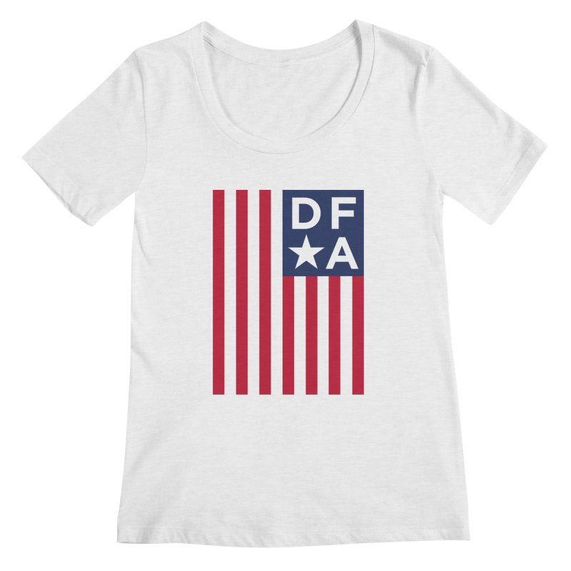 DFA Flag Women's Scoopneck by Design for America's Artist Shop