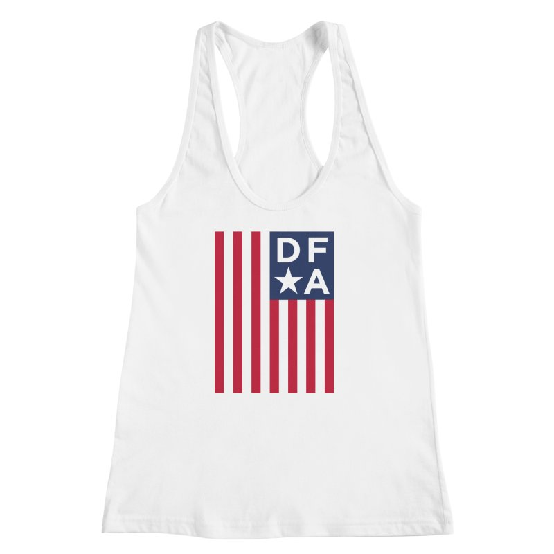 DFA Flag Women's Racerback Tank by Design for America's Artist Shop