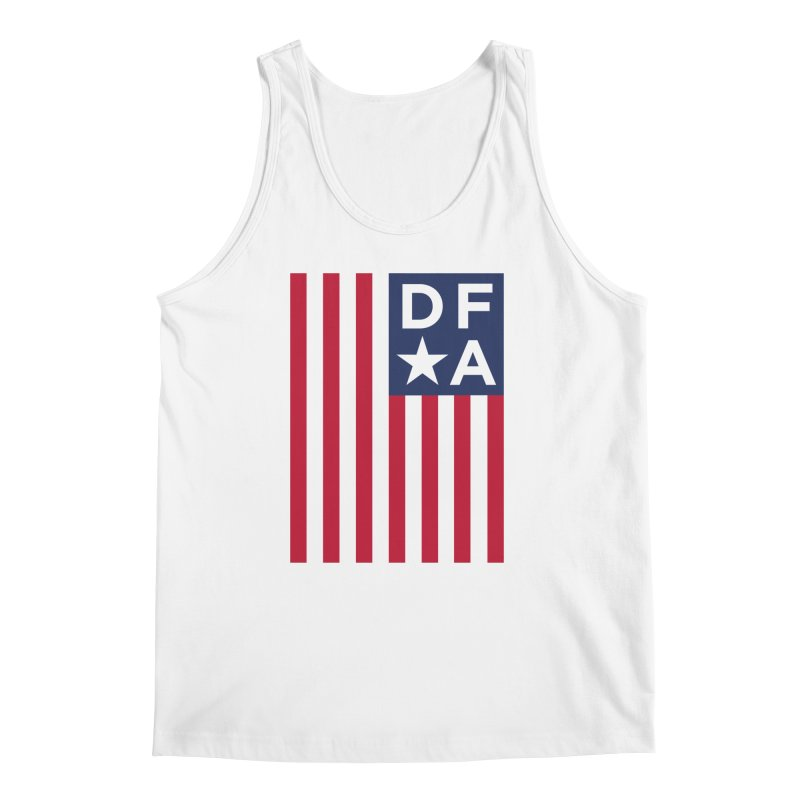 DFA Flag Men's Tank by Design for America's Artist Shop