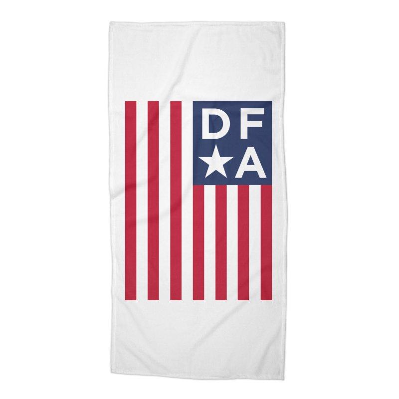 DFA Flag Accessories Beach Towel by Design for America's Artist Shop