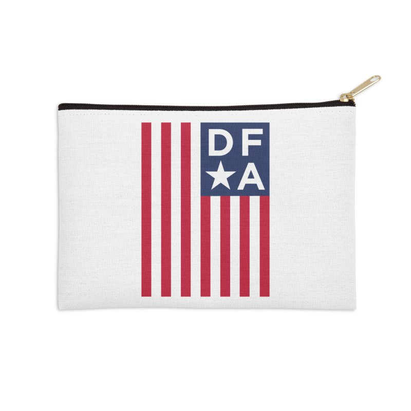 DFA Flag Accessories Zip Pouch by Design for America's Artist Shop