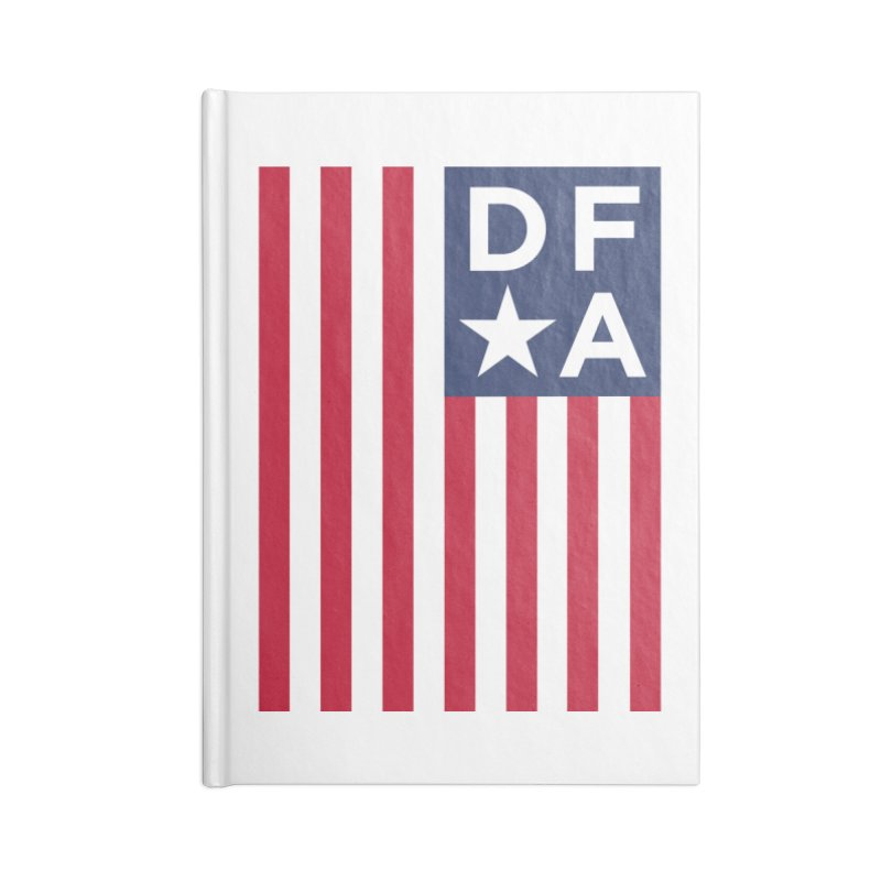DFA Flag Accessories Notebook by Design for America's Artist Shop