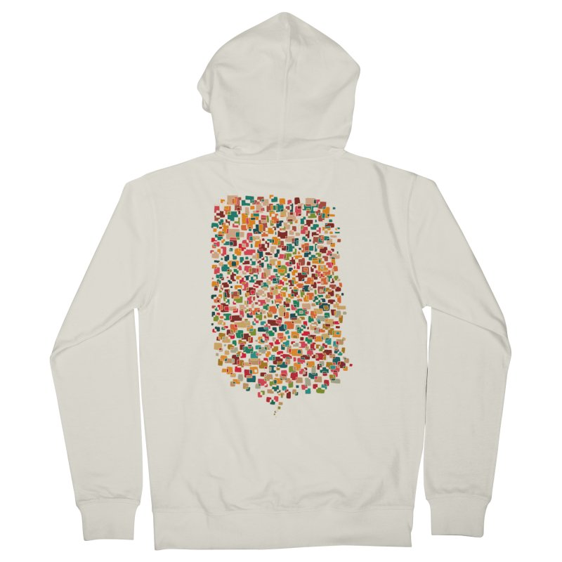 Us & Them Men's Zip-Up Hoody by DesignKitchen's Artist Shop