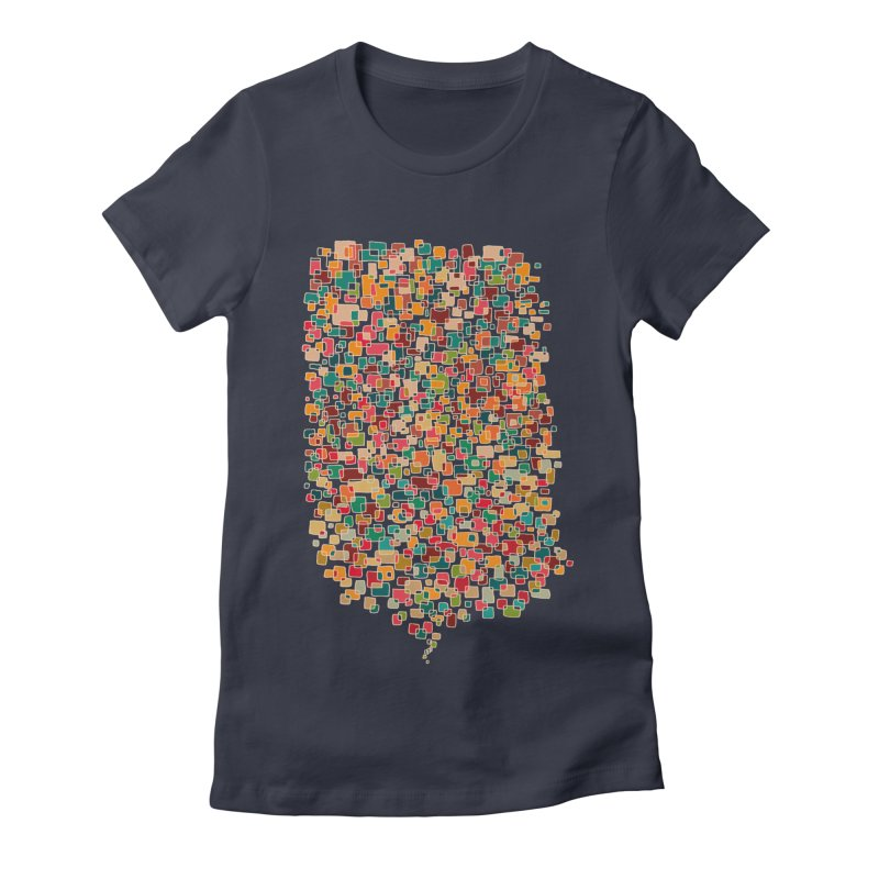 Us & Them Women's Fitted T-Shirt by DesignKitchen's Artist Shop
