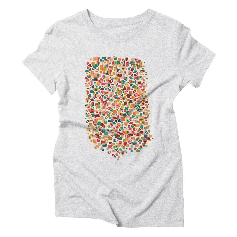 Us & Them Women's Triblend T-Shirt by DesignKitchen's Artist Shop