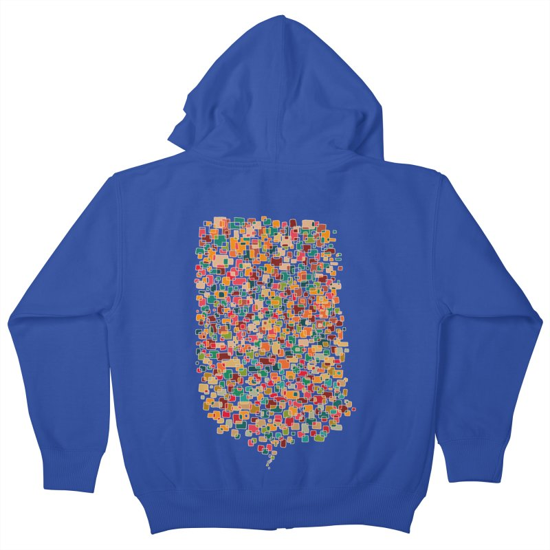 Us & Them Kids Zip-Up Hoody by DesignKitchen's Artist Shop