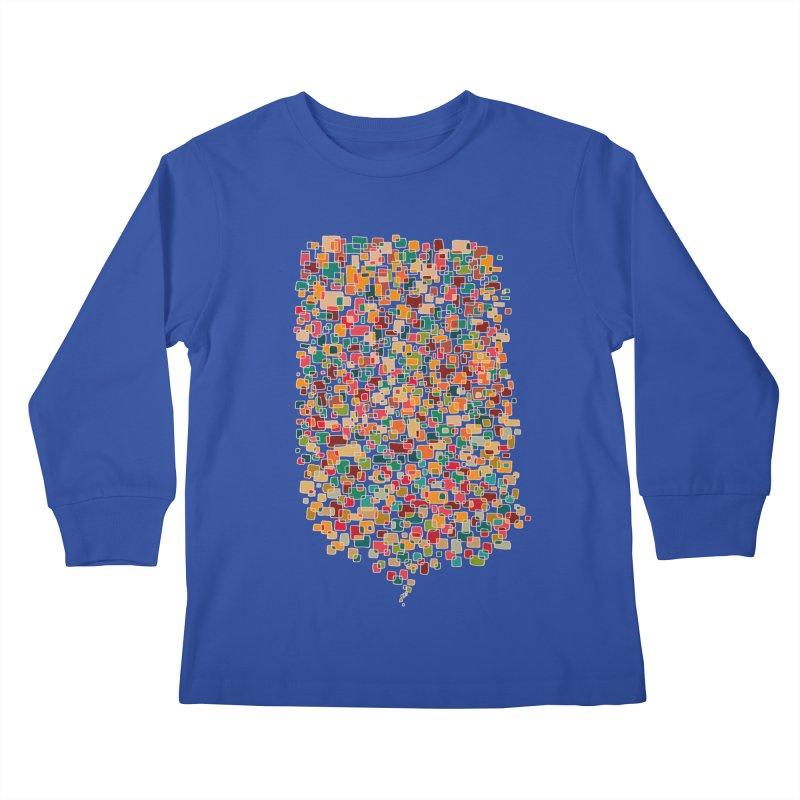 Us & Them Kids Longsleeve T-Shirt by DesignKitchen's Artist Shop