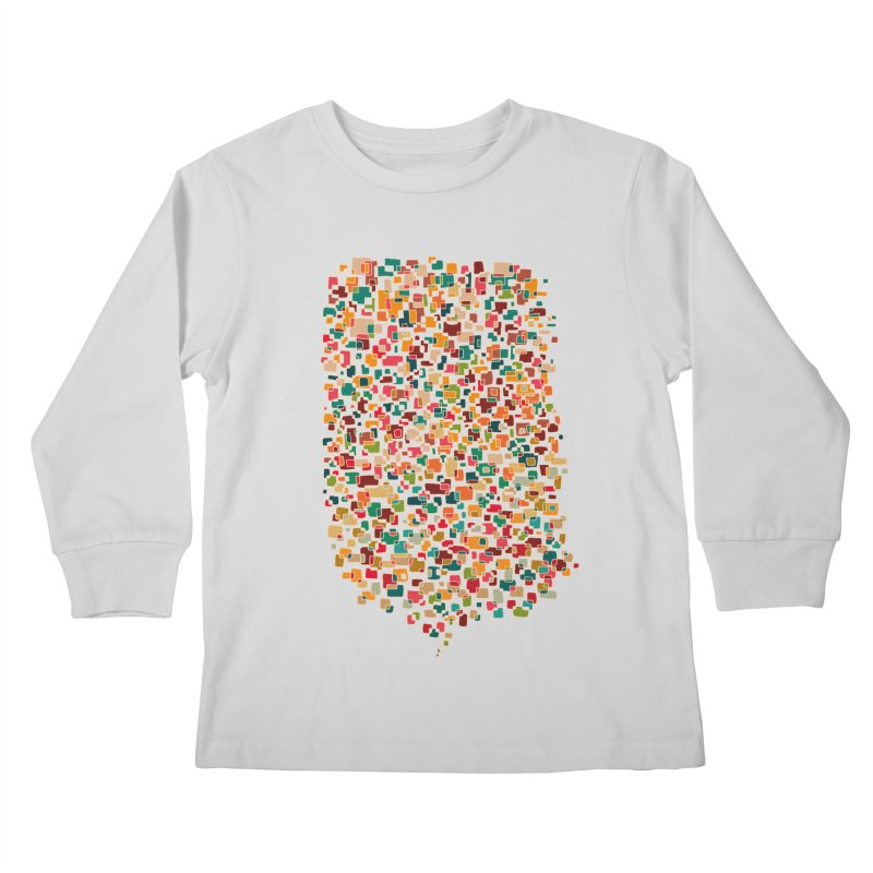 Us & Them Kids Longsleeve T-Shirt by DesignKitchen's Artist Shop