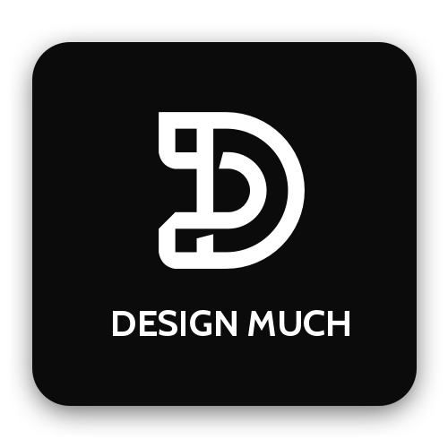 The Design Much Podcast Shop Logo