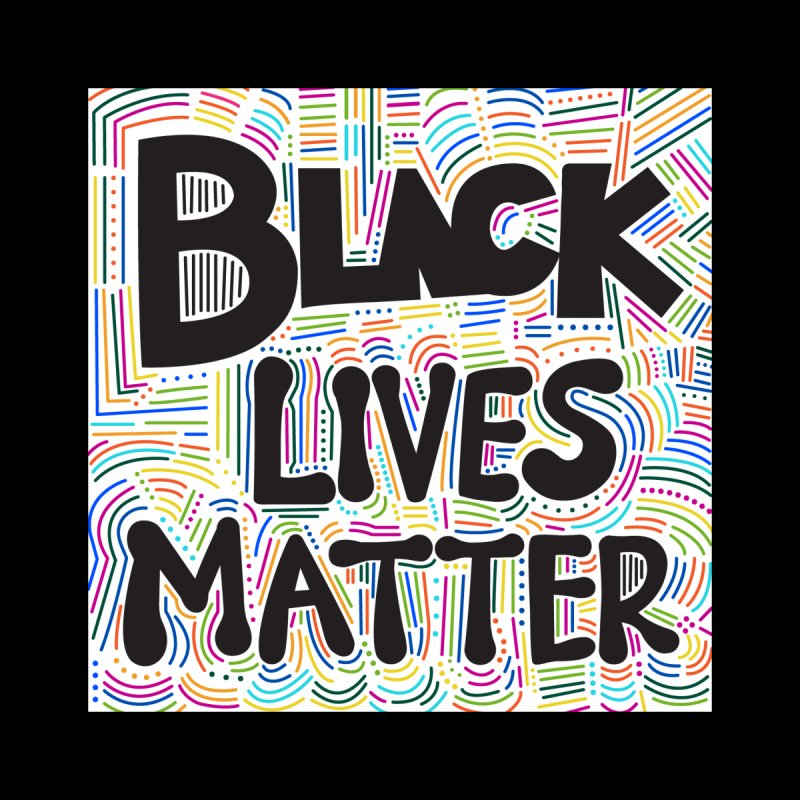 Black Lives Matter Accessories Face Mask by design obsess with vaness