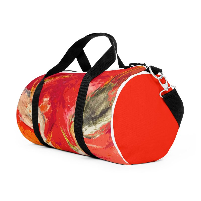 HERONS Accessories Duffel Bag Bag by designsbydana's Artist Shop