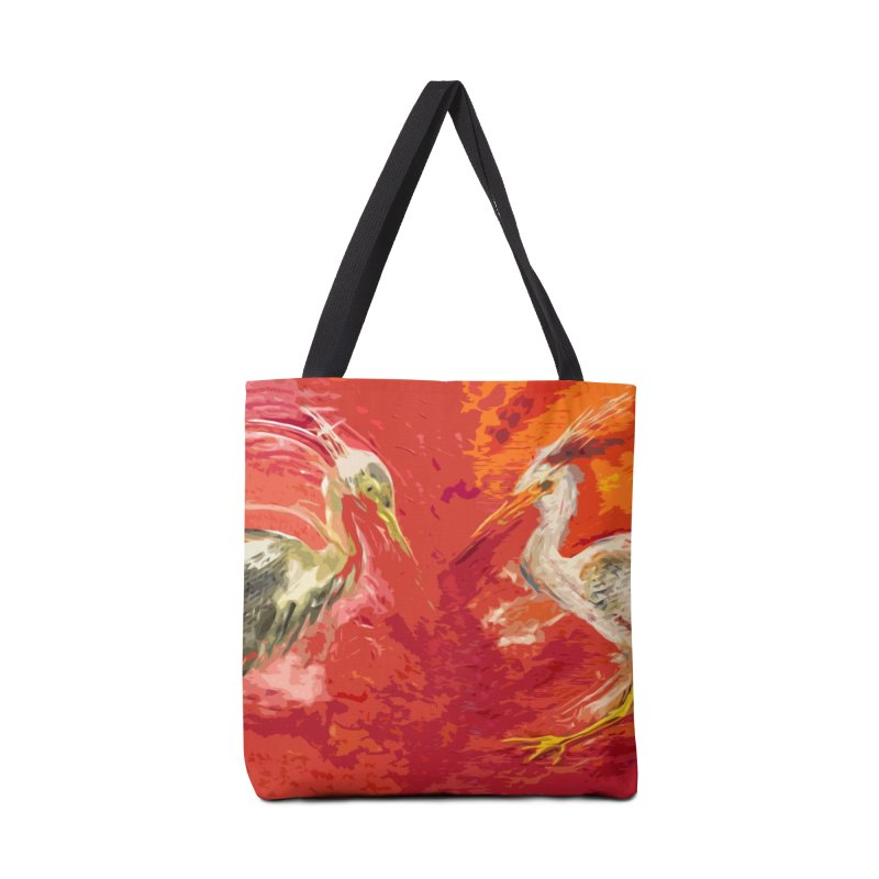 HERONS Accessories Tote Bag Bag by designsbydana's Artist Shop