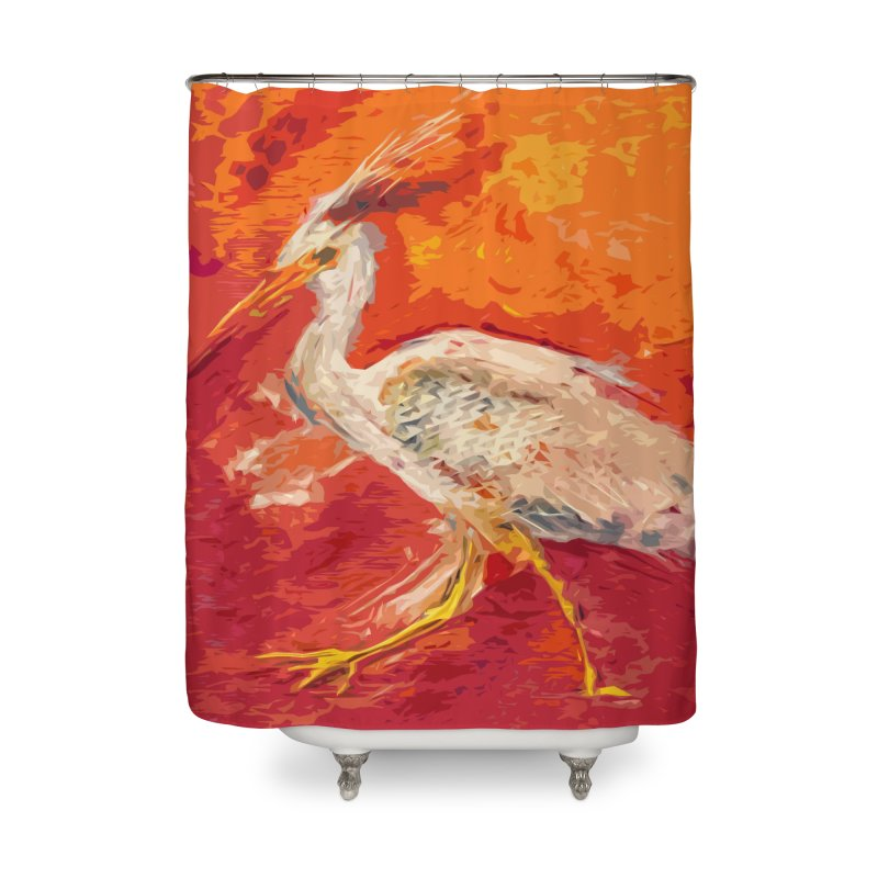 HERONS Home Shower Curtain by designsbydana's Artist Shop