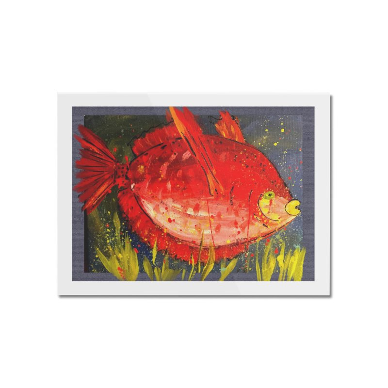 PUCKER UP Home Mounted Acrylic Print by designsbydana's Artist Shop