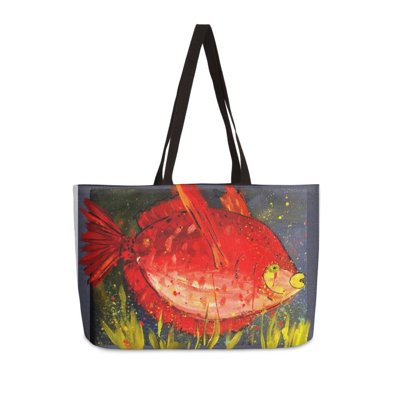 PUCKER UP Accessories Weekender Bag Bag by designsbydana's Artist Shop