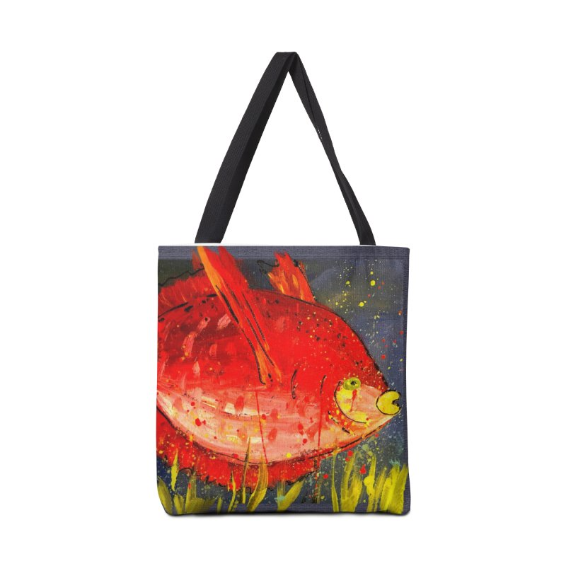 PUCKER UP Accessories Tote Bag Bag by designsbydana's Artist Shop