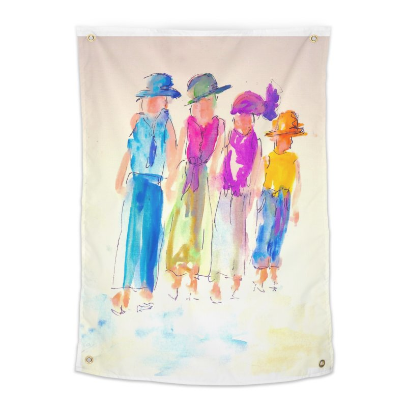4 LADIES Home Tapestry by designsbydana's Artist Shop