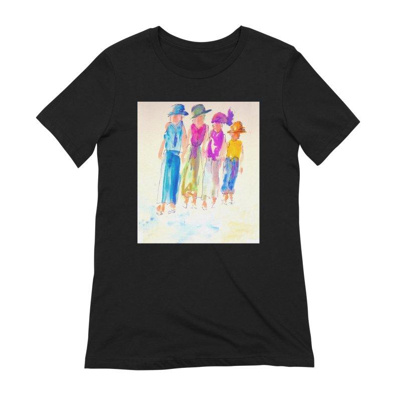 4 LADIES Women's Extra Soft T-Shirt by designsbydana's Artist Shop
